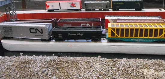 ho barge freight cars