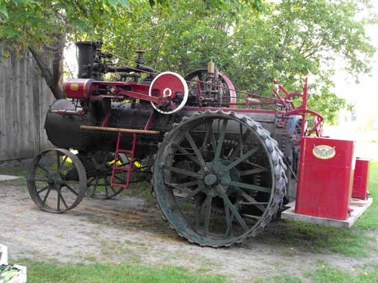 farm steam tractor