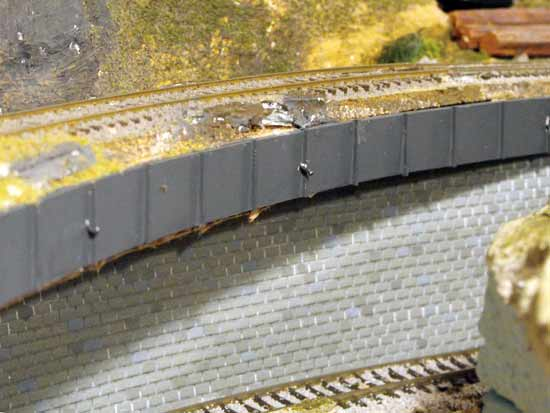 model railroad canyon walls