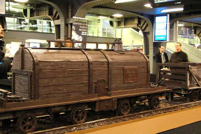 chocolate tank car
