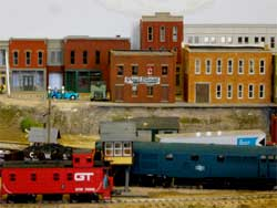 HO scale building flats