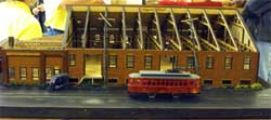 HO scale early Ford factory