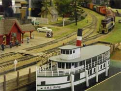 S scale steamship