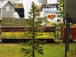S scale THB diesel locomotive