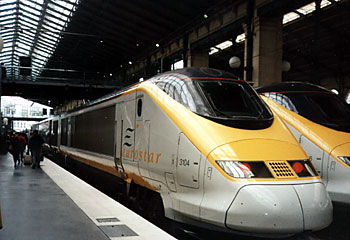 Eurostar locomotive