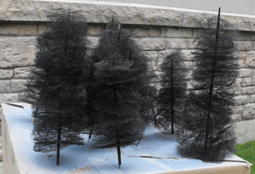 sprayed furnace filter tree