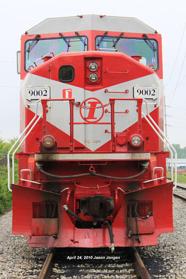 Indiana Railroad IRR9002 front end