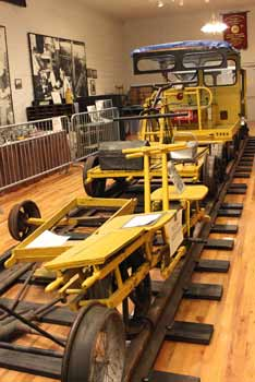 railroad mow spreader