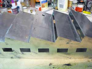 metal roof assembly
