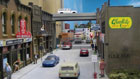 HO scale city street