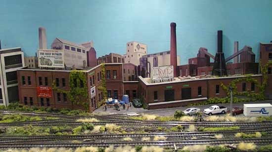 n scale industrial scene 2