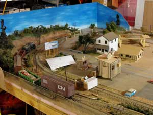 left end of layout