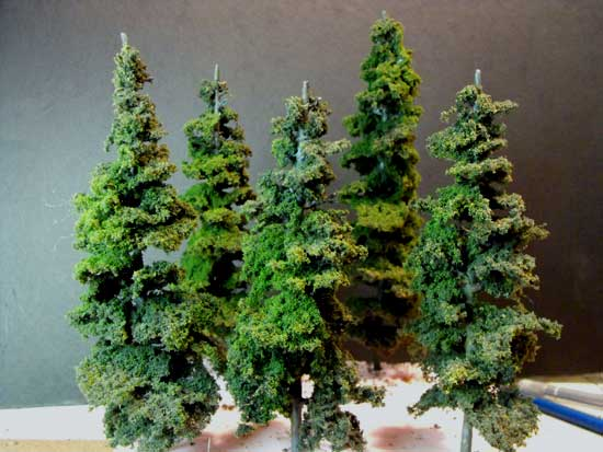 Pine Tree Kits By Woodland Scenics Make Excellent