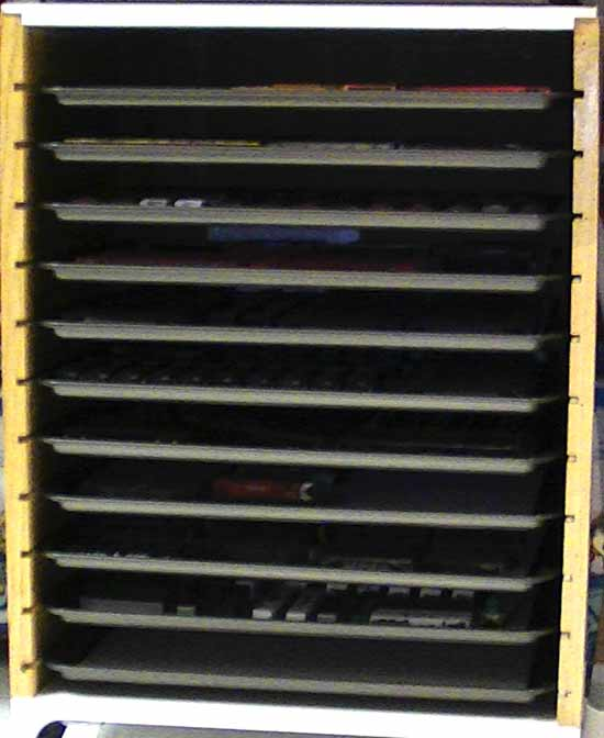 n scale rolling stock storage