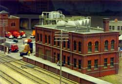 HO scale big factory