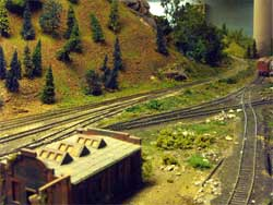 HO scale country siding