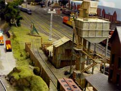 HO scale sanding tower