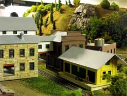 HO scale stone wall factory