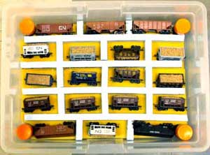 Model Train Transport Carrying Case Examples