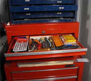 automotive tool chest