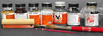 Polly Scale track paints