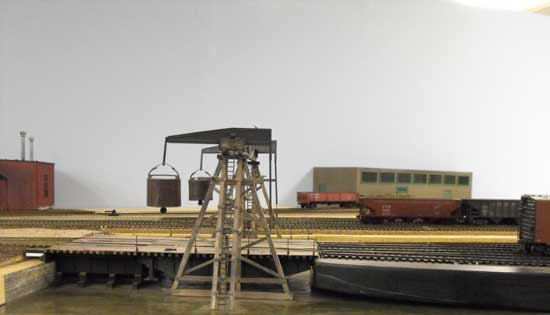 HO scale float apron