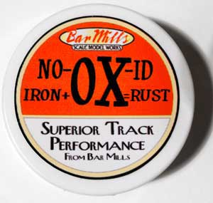 no-ox track cleaning