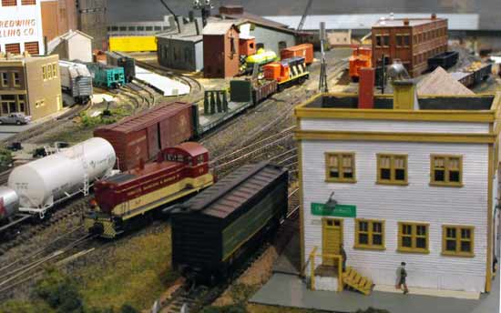 HO express freighthouse kit