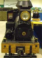 live steam engine 5 front view