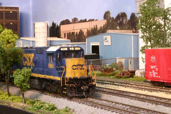 CSX on the HO mainline