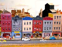 main street on the GCR model railroad