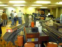overview of NMRC modular model railroad
