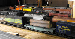 model railroad hidden staging yard