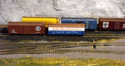 model railroad open track storage