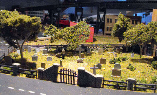 maple leaf cemetery ho model
