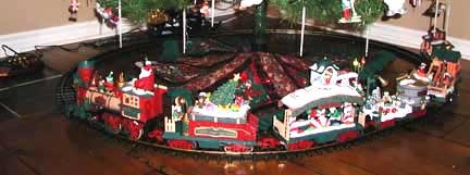Elegant Model Christmas Train