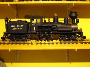 narrow gauge G scale shay