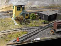 model railroad ferry track