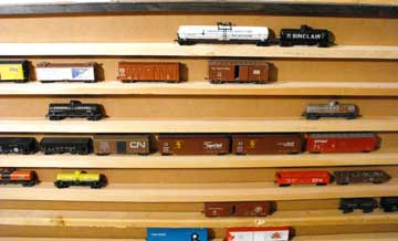 model railroad fiddle yard