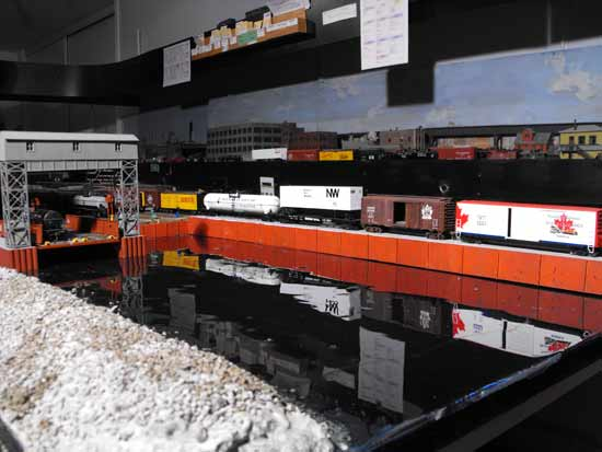 ho model harbour scene