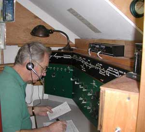 dispatcher's office on hoosac model railroad