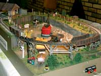 small narrow gauge model railroad