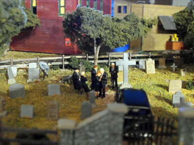 ho model of burial scene