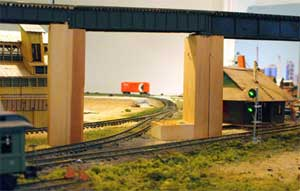 model railroad wye track to freemo