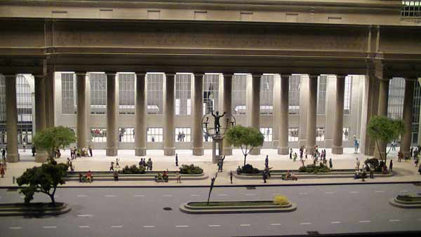ho scale model of union station