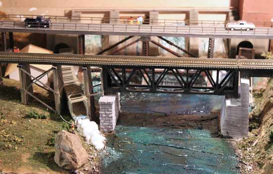 thornburyroad bridge ho model
