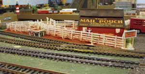 model railroad cattle pens