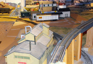 cardboard street template for model railroads