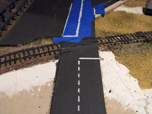 masking model roads
