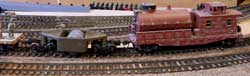 model railroad track cleaning cars